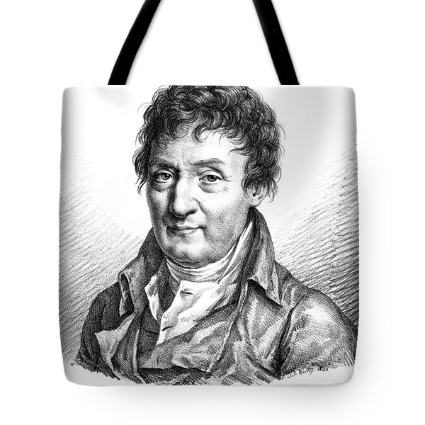 Jacques Charles, French Balloonist Tote Bag by Photo Researchers