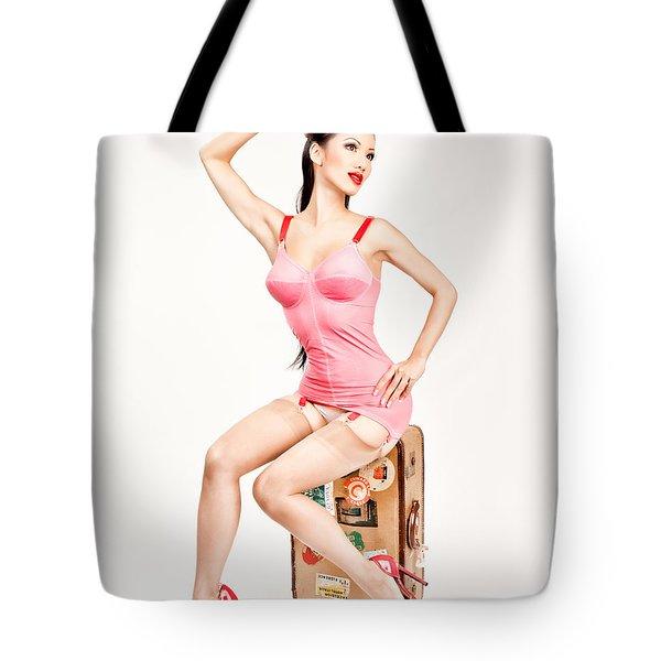 Jade Vixen Bubblegum 1076 Tote Bag