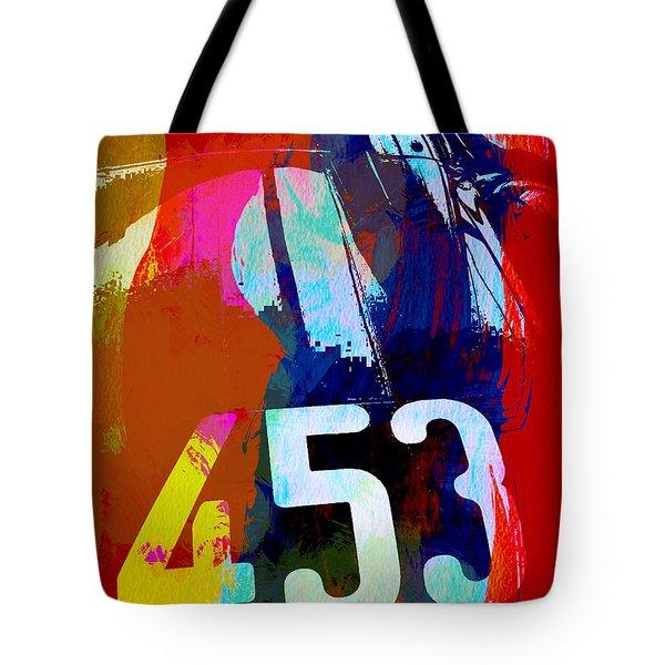 Jaguar E Type Watercolors Tote Bag
