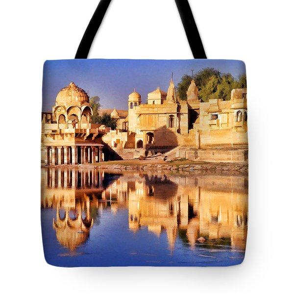 Jaisalmer Rajasthan Tote Bag