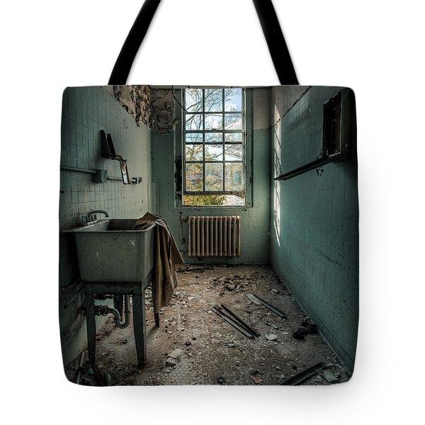 Janitors Closet Tote Bag by Gary Heller