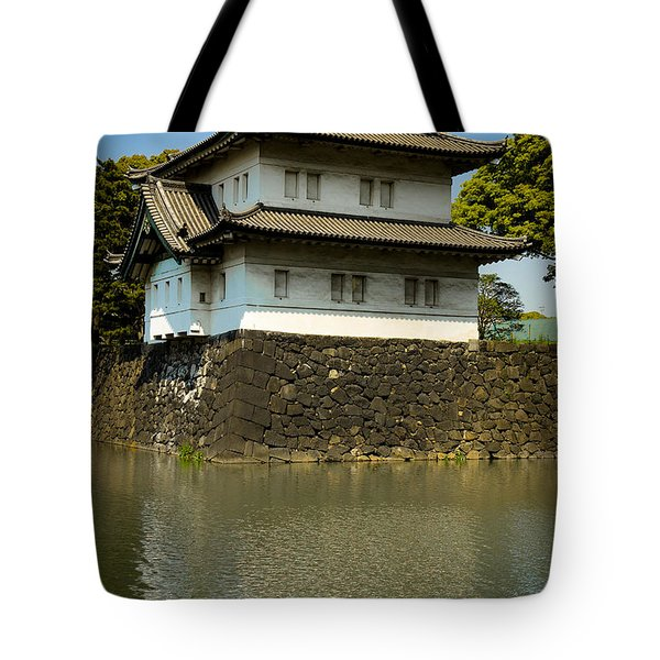 Japan Castle Tote Bag