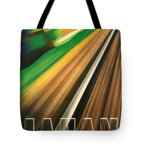 Japan Tote Bag by Georgia Fowler