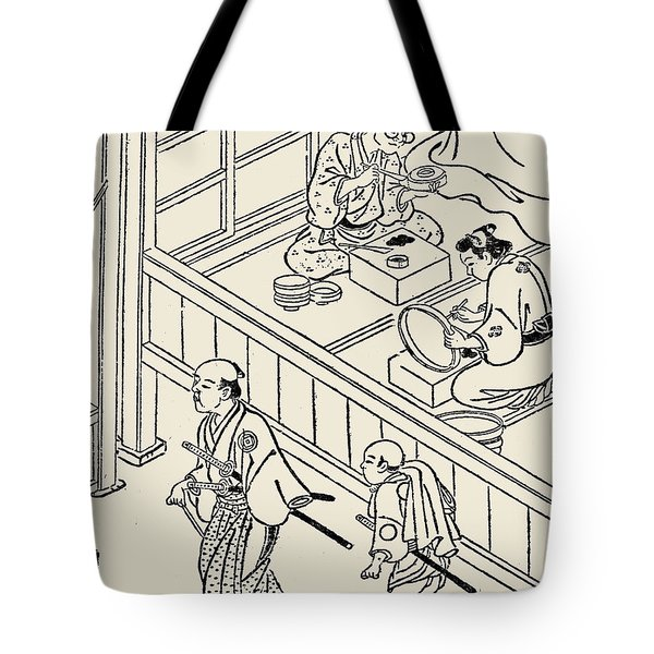 Japan: Samurai, 1700 Tote Bag by Granger