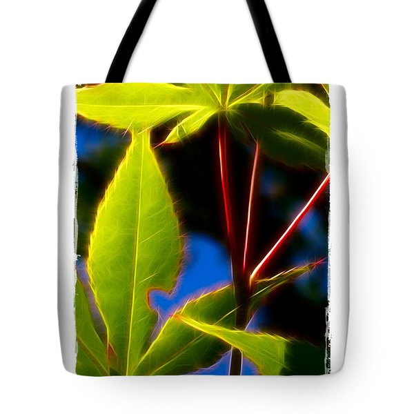 Japanese Maple Leaves Tote Bag by Judi Bagwell