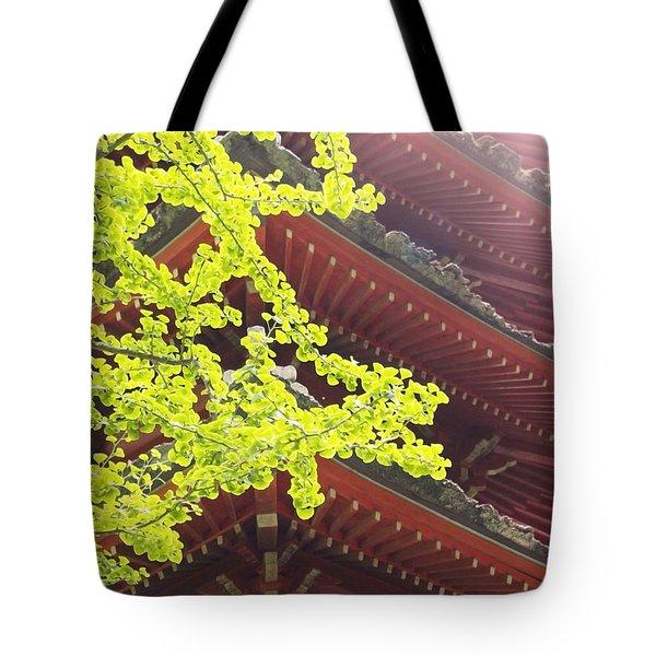 Japanese Tea Garden Tote Bag