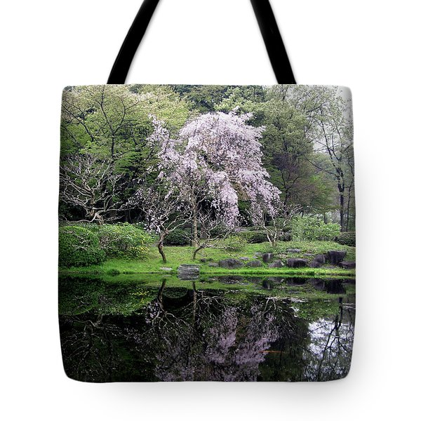 Japan's Imperial Garden Tote Bag