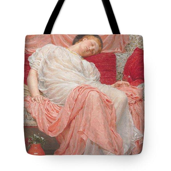 Jasmine Tote Bag by AJ Moore