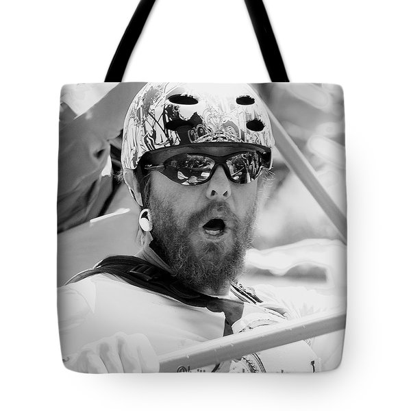 Tote Bag featuring the photograph Jason by Britt Runyon