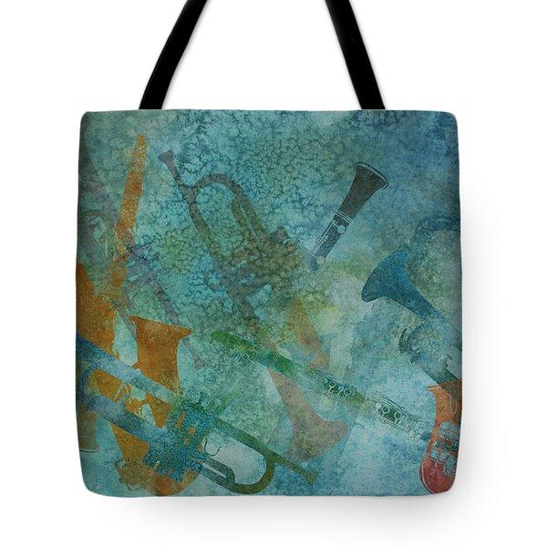 Jazz Improvisation One Tote Bag by Jenny Armitage