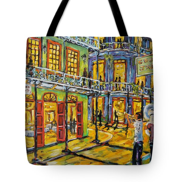 Jazz It Up New Orleans By Prankearts Tote Bag