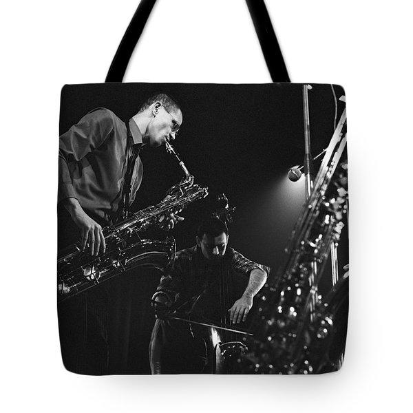Jazz Scene Tote Bag