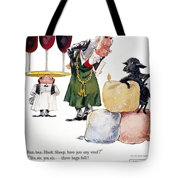 Jell-o Advertisement, 1957 Tote Bag by Granger