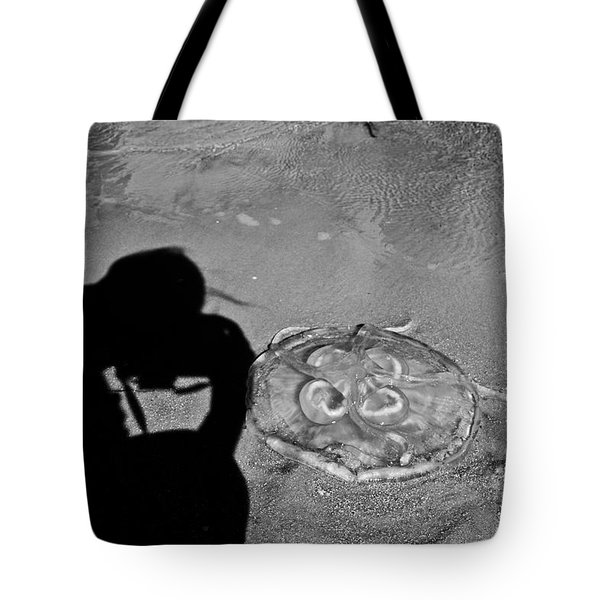 Jelly Capture Tote Bag by Betsy Knapp