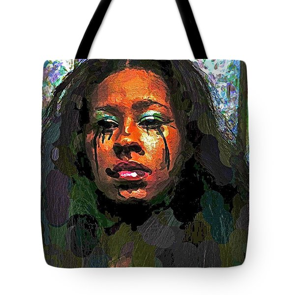 Tote Bag featuring the photograph Jemai by Alice Gipson