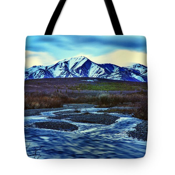 Jenny Creek Dawn Tote Bag