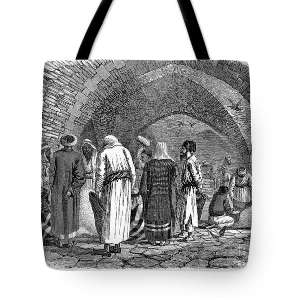 Jerusalem: Grain Market Tote Bag by Granger