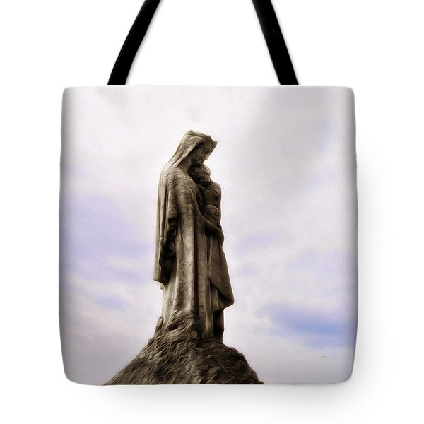 Jesus And Mary Tote Bag by Bill Cannon