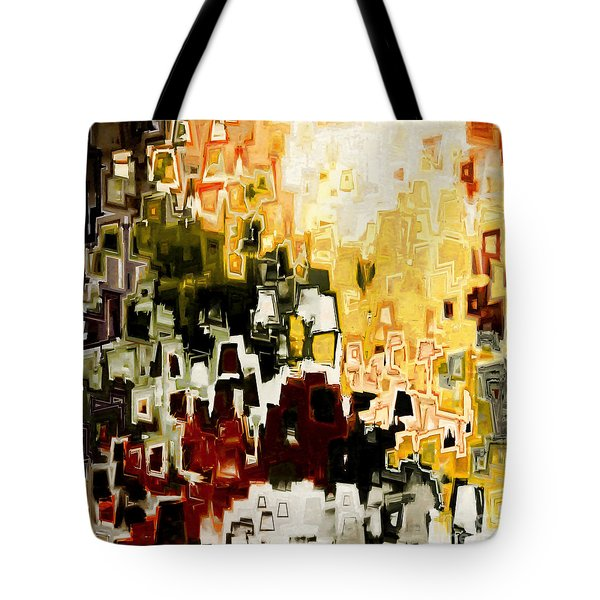 Jesus Christ A Man Of Sorrows Tote Bag by Mark Lawrence