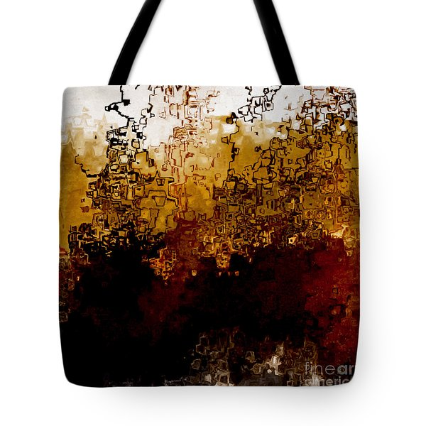 Jesus Christ The Amen Tote Bag by Mark Lawrence