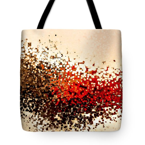 Jesus Christ The Arm Of The Lord Tote Bag by Mark Lawrence