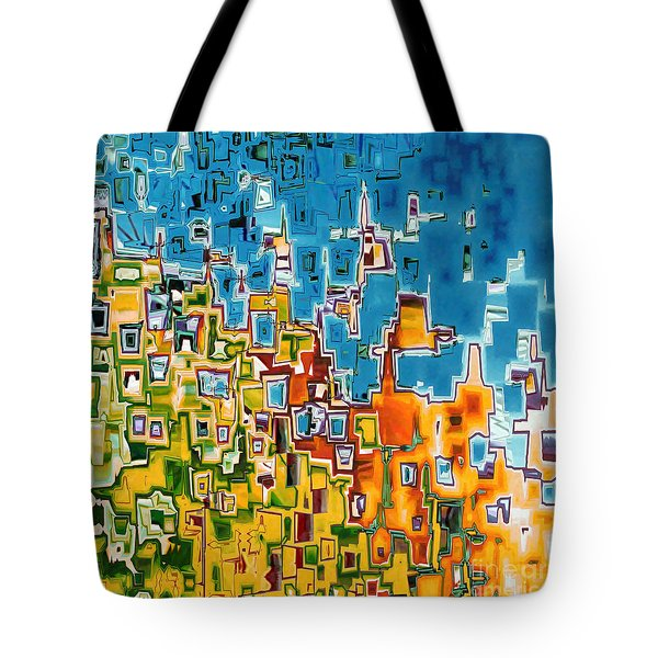 Jesus Christ The Image Of God Tote Bag by Mark Lawrence
