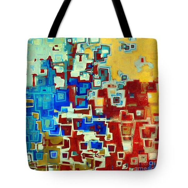 Jesus Christ The True Vine Tote Bag by Mark Lawrence