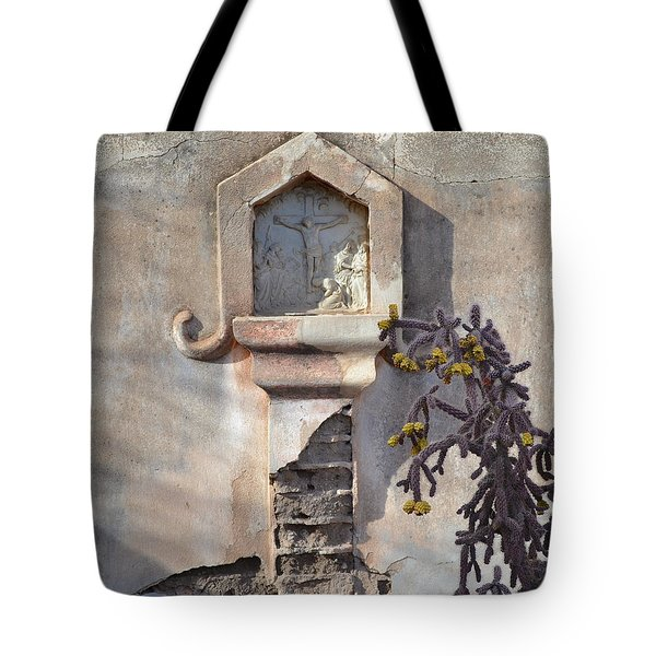 Tote Bag featuring the photograph Jesus Image by Rebecca Margraf