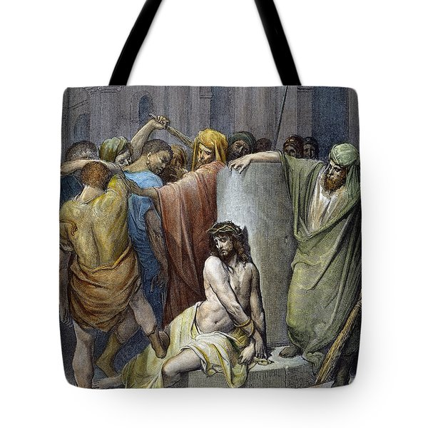 Jesus: Scourging Tote Bag by Granger