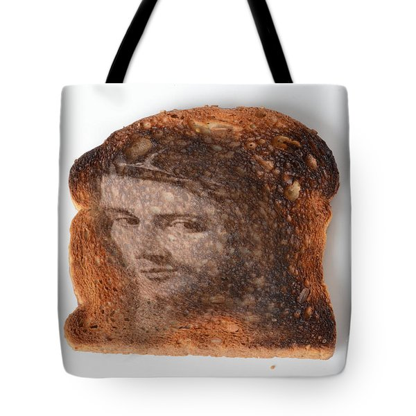 Jesus Toast Tote Bag by Photo Researchers, Inc.