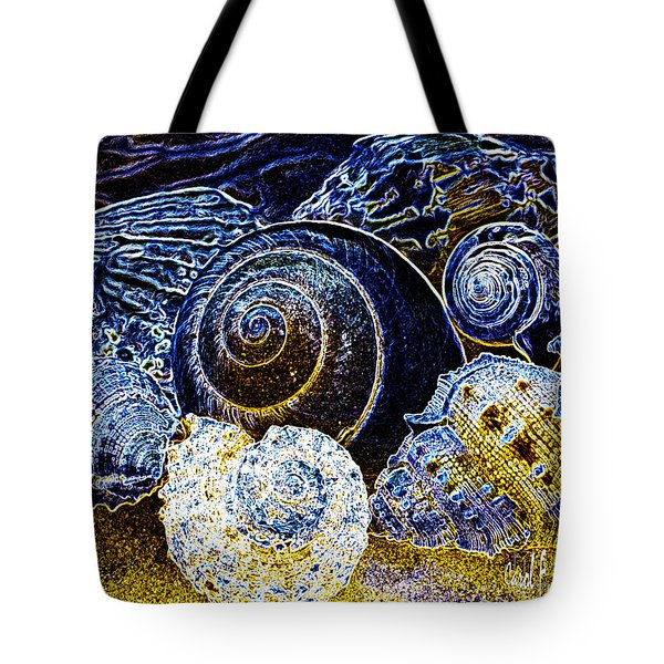 Abstract Seashell Art Tote Bag