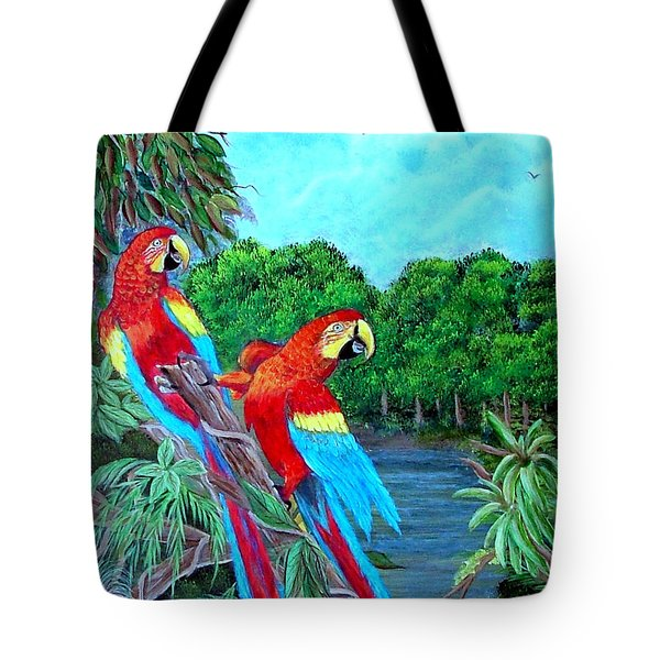 Jewels Of The Amazon Tote Bag