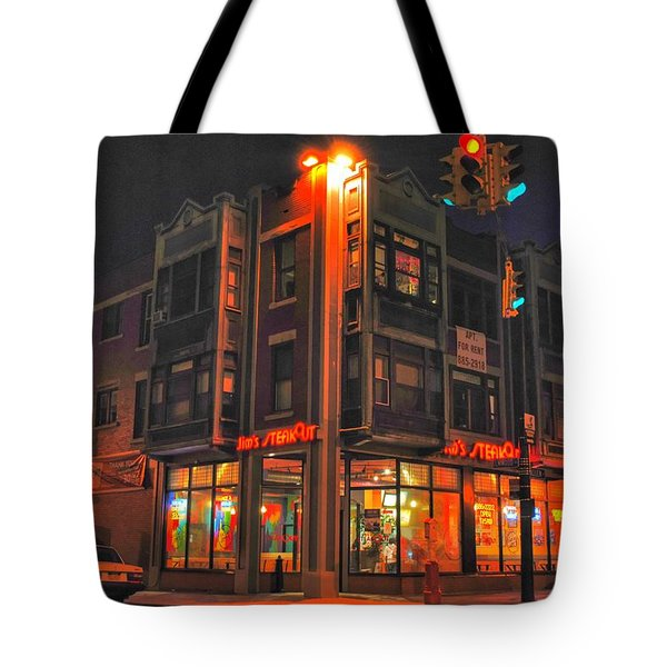 Jim's Steakout Tote Bag