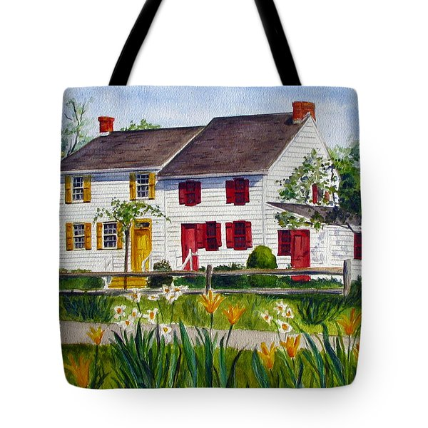 John Abbott House Tote Bag