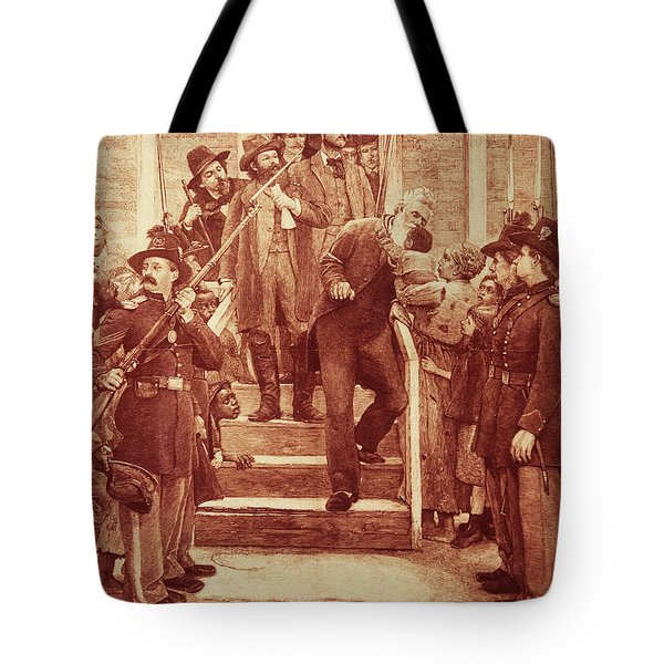 John Brown: Execution Tote Bag by Granger