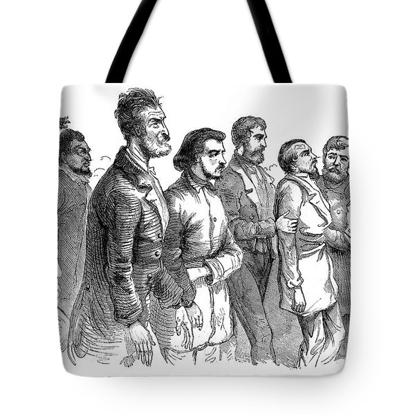 John Brown Trial, 1859 Tote Bag by Granger