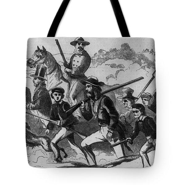John Browns Raid Tote Bag by Photo Researchers