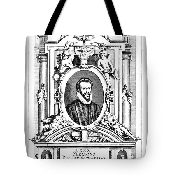 John Donne (1573-1631) Tote Bag by Granger