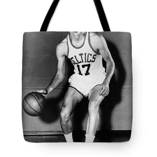 John Havlicek (1940- ) Tote Bag by Granger