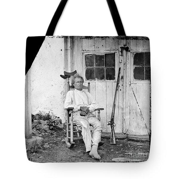 John L. Burns (1793-1872) Tote Bag by Granger