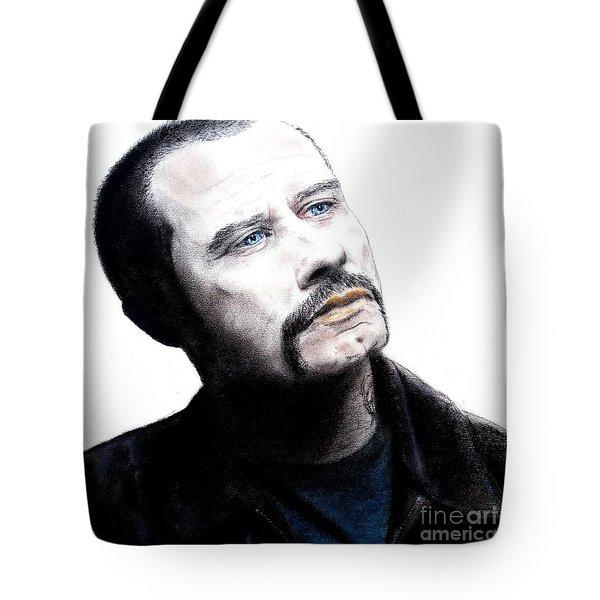 John Travolta In The Taking Of Pelham 123  Tote Bag by Jim Fitzpatrick