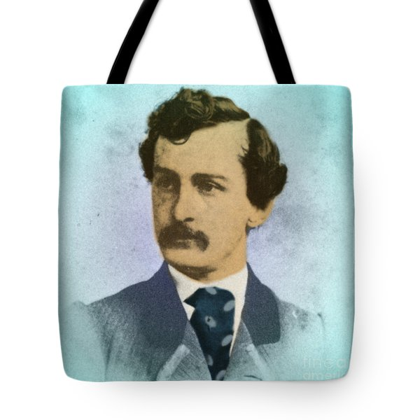 John Wilkes Booth, Assassin Tote Bag by Photo Researchers
