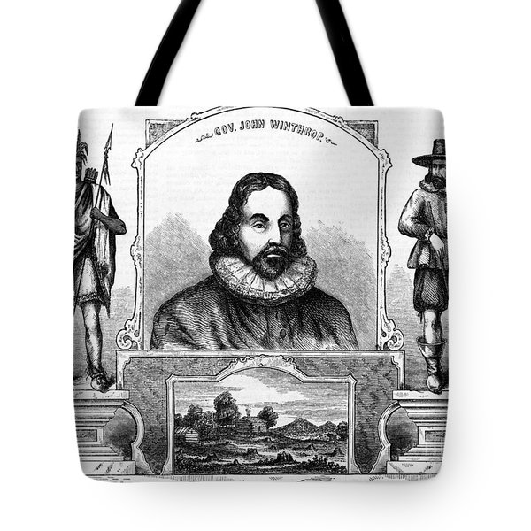John Winthrop, English Puritan Lawyer Tote Bag by Photo Researchers