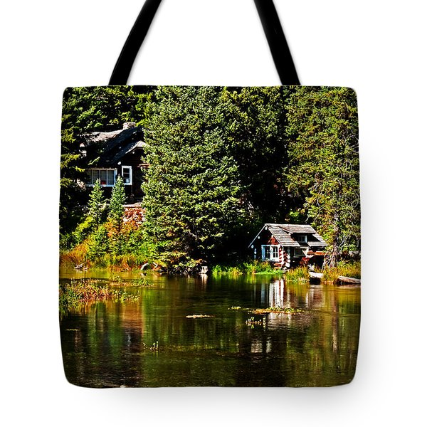 Johnny Sack Cabin II Tote Bag by Robert Bales