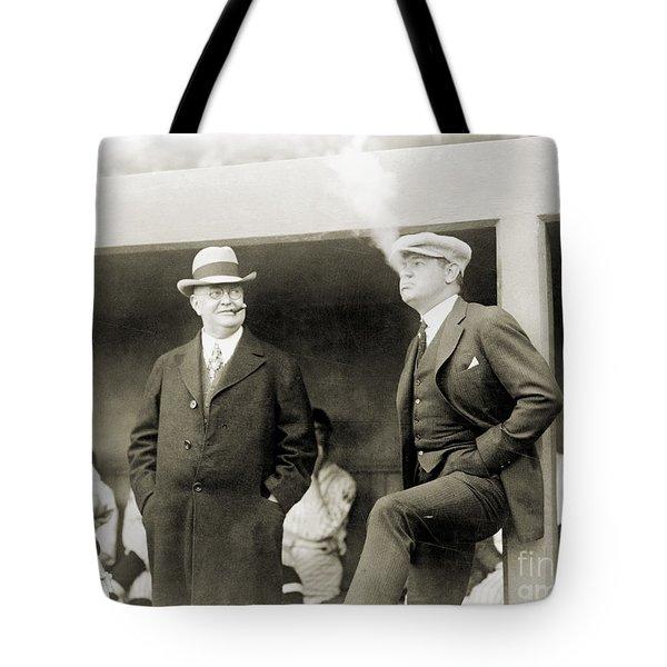 Johnson & Ruth, 1922 Tote Bag by Granger