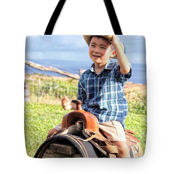 Jonah And Elijah 3 Tote Bag by Dawn Eshelman