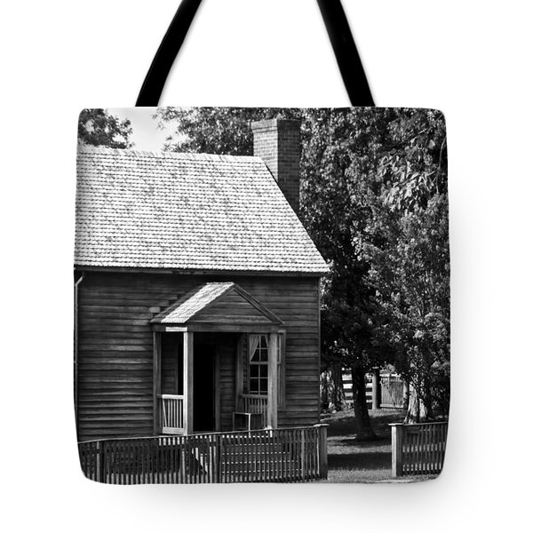 Jones Law Office Appomattox Virginia Tote Bag by Teresa Mucha