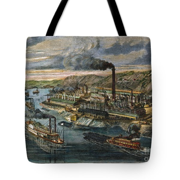 Jones/laughlin Iron Works Tote Bag by Granger