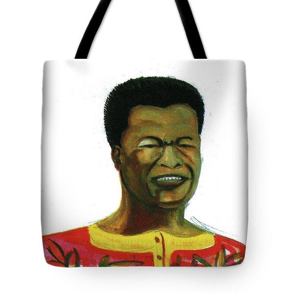Jose Belo Chipenda Tote Bag by Emmanuel Baliyanga