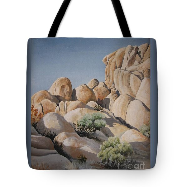 Joshua Tree 1 Tote Bag by Barbara Prestridge